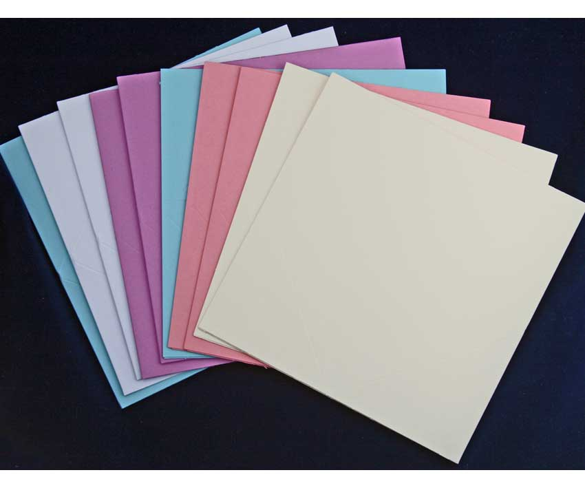 square shaped jump blank greeting cards for cardmaking